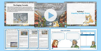Dodge and the Tornado: Reading for Writing Resource Pack - dodge, tornado, extreme weather, extreme earth, natural disasters, storm, story, narrative, midwest,