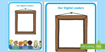 Digital Leaders Display Posters - computers, ipads, ICT, technology, council