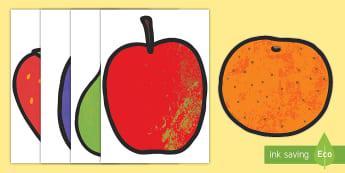La fruta para ayudar en la enseñanza de: La pequeña oruga glotona Imágenes de exposición-Spanish - lecto, leer, literatura infantil, cuentos, cuento, crecimiento, ciclo de vida, ciclo vital, bichos,  - lecto, leer, literatura infantil, cuentos, cuent