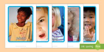 Le nostre Emozioni Foto A4 - le, mie, nostre, emozioni, sentimenti, foto, fogli, A4, classe, italiano, italian