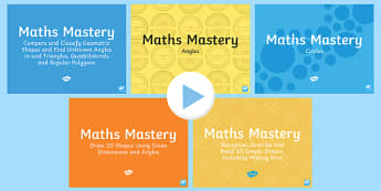 Year 6 Geometry Shape Maths Mastery Resource Pack