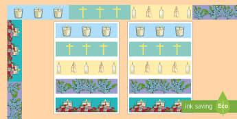 Garden of Remembrance  Display Borders - catholic, festivals, prayers, re, christian,Irish