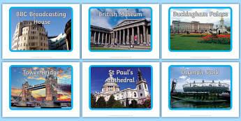 Photos d'affichage : Les monuments de Londres - Anglais LV