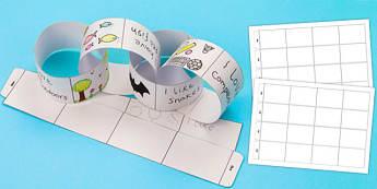 Our Class Paper Chain - our class, paper chain, paper, chain