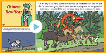 Australia Chinese New Year PowerPoint Story - powerpoint, chinese new year story, chinese story powerpoint