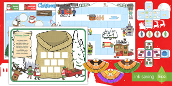 KS1 Christmas Maths Games Activity Pack - maths christmas games, festive games, christmas, christmas maths, christmas maths activties