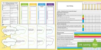 Year 6 Writing Assessment Pack - WLW Literacy and Numeracy Framework in Wales (Fframwaith Llythrennedd a Rhifedd Cenedlaethol)  16.12
