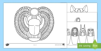 Coloriage Egypte Antique.L Egypte Ancienne L Antiquite L Egypte Ancienne Ressources