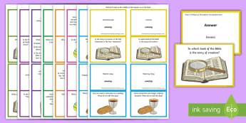 Y3 Religious Education Comprehension Question Cards - Y3 Religious Education Comprehension Question Cards, ACELY1676, ACELY1680, comprehension, questions,