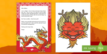 Editable Chinese New Year Dragon Letter and Resource Pack - CNY, chinese new year, china, class activity, letter, wow, hook, ideas