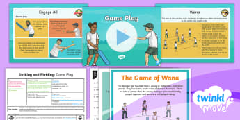 Twinkl Move - Year 3 Striking and Fielding Lesson 5 - Game Play Lesson Pack - Striking and Fielding, PE, Physical Education, exercise, sports, Year 3, planning, plans, powerpoint