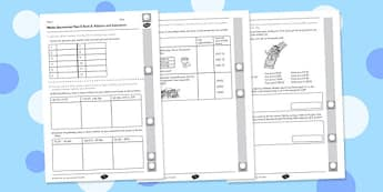 Year 5 Maths Assessment: Addition and Subtraction Term 3 - maths, year 5, assessment, addition, subtraction
