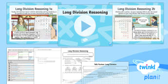 * NEW * PlanIt Maths Y6 Addition, Subtraction, Multiplication and Division Lesson Pack Long Division (4)