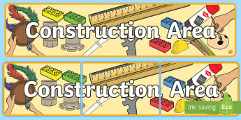 Construction Area Primary Resources
