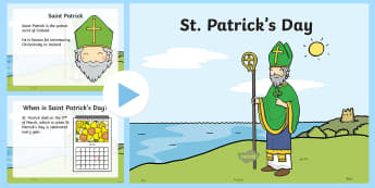 When Is St. Patrick's Day? PowerPoint  - st patrick's day, saint patrick, st patrick's day, saint patrick day, st patrick's day, st patric