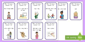 Anger Choice Cards - anger, choice, behaviour management, anger management, Choices, new Zealand
