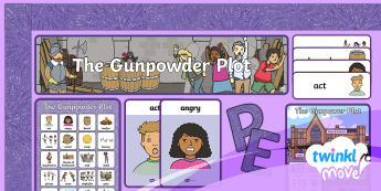 Twinkl Move - Year 2 Dance: The Gunpowder Plot Additional Resources - PE, Physical Education, Key Stage 1, KS1, Year 1, Y1, Year 2, Y2, Warm-Up, Dance, Sport, Exercise, G