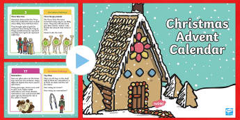 KS1 Maths Advent Calendar PowerPoint