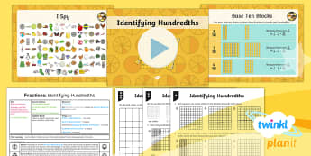 PlanIt Maths Y4 Fractions Lesson Pack Hundredths (1)