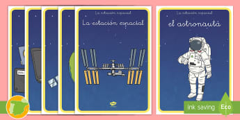 Posters: Estación espacial - pósteres, poster, posters, póster, espacio, espacial, actuar, actuación juego, jugar, roles, rol,