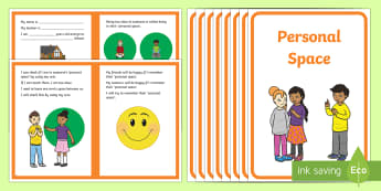 Personal Space Alternative Social Situation - social stories, ASD, autism, personal space, touching, inappropriate, close, too close, physical con