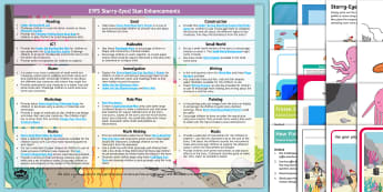 Starry-Eyed Stan EYFS Enhancement Ideas and Resources Pack - Early Years Planning, Adult Led, Continuous Provision, Foundation, Twinkl Fiction, Twinkl Originals,