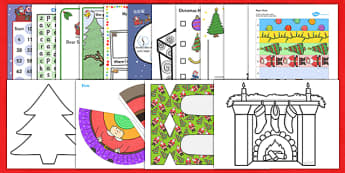 Teaching Assistant Christmas Craft and Paper Model Resource Pack - ta, craft