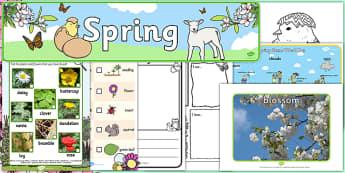 Top 10 Spring Resource Pack - top ten, resources, top ten resources, top 10, spring, pack