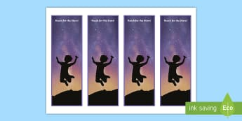 Reach for the Stars Editable Bookmarks - gift, end of year, Pupil gift, presents, goodbye, transition
