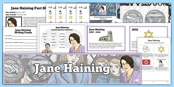 Scottish Significant Individuals Jane Haining Resource Pack - Scottish significant individual, Christian, missionary, Holocaust, Jewish, Auschwitz