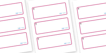 Cherry Tree Themed Editable Drawer-Peg-Name Labels (Blank) - Themed Classroom Label Templates, Resource Labels, Name Labels, Editable Labels, Drawer Labels, Coat Peg Labels, Peg Label, KS1 Labels, Foundation Labels, Foundation Stage Labels, Teaching