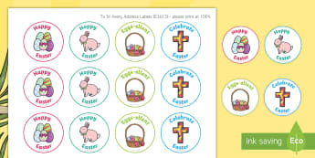 Easter Stickers - EYLF, Australia, Rewards, Behaviour Management, Early Childhood, Early Years, Easter,Australia