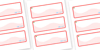 Wales Themed Editable Drawer-Peg-Name Labels (Colourful) - Themed Classroom Label Templates, Resource Labels, Name Labels, Editable Labels, Drawer Labels, Coat Peg Labels, Peg Label, KS1 Labels, Foundation Labels, Foundation Stage Labels, Teaching La