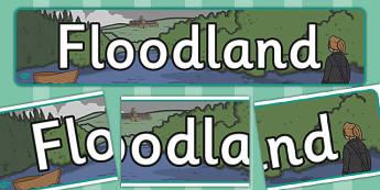 Floodland Display Banner - floodland, display banner, display