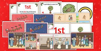 The Christmas Story Resource Pack - christmas, christmas story
