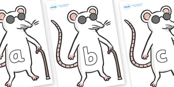 Phase 2 Phonemes on Blind Mice - Phonemes, phoneme, Phase 2, Phase two, Foundation, Literacy, Letters and Sounds, DfES, display