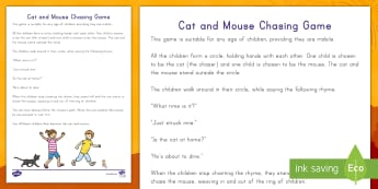 Cat and Mouse Chinese New Year Themed Chasing Game - Chinese Customs, Chinese Traditions, Chinese New Year, Holidays, Celebrations
