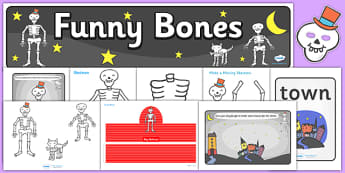 Childminder Resource Pack to Support Teaching on Funnybones - child minder, stories