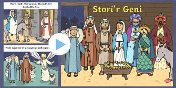 The Nativity PowerPoint Welsh