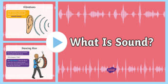 What Is Sound Energy? - Science, science week, Science Festival, Sound, Sound energy, how sound works