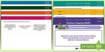 Australia - Science  Display Posters - Grade 3, Australia curriculum, Australian science, WALT, TIB, science elaborations,Australia