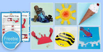 Summer Craft Activities Early Years Eyfs Summer Season Warm Craft