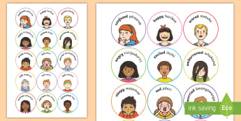 Emotion Discs Display Cut-Outs - Ngā Kare Ā-Roto, Management in the Classroom, scared, excitied
