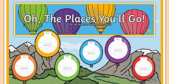 New Class Balloon Activity Display Pack German Translation - german, Back to School, new start, new class, display, first day activity, welcome display, Dr. Seuss, balloons, transition
