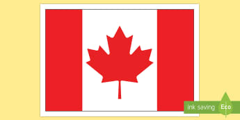 Canadian Flag Display Poster - Uniquely Canadian, Canadian Flag, grade 1, grade 2, grade 3, grade 4, grade 5, grade 6, kindergarten