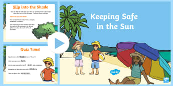 Sun Safety PowerPoint