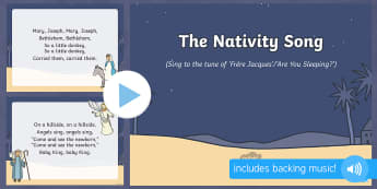 Nativity Song PowerPoint