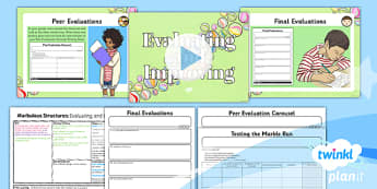 DT: Marbulous Structures: Evaluating And Improving UKS2 Lesson Pack 6