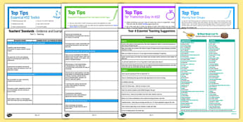 Teaching in Y4 Resource Pack - Transition to Year 4 Activities