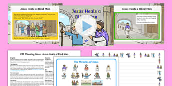 Jesus Heals a Blind Man Lesson Teaching Pack